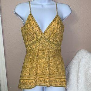 Banana Republic silk camisole spaghetti strap top